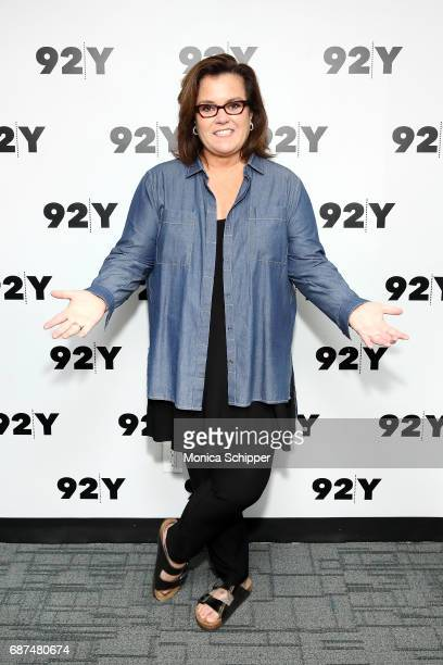 Actress comedian and author Rosie O'Donnell attends 92nd Street Y Presents Sheila Nevins Rosie O'Donnell at 92nd Street Y on May 23 2017 in New York...