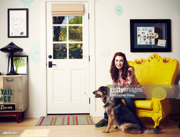 Actress comedian and writer Felicia Day is photographed for The Hollywood Reporter on June 26 2012 in Los Angeles California