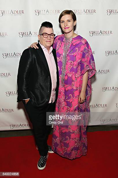 Actress/ comedian Lea DeLaria and Chelsea Fairless attend the Stella By Starlight 11th Annual Fundraising Gala at Prince George Ballroom on June 13...
