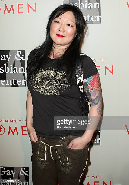 Actress / Comedian Margaret Cho attends the LA Gay Lesbian Center's 2014 An Evening With Women at The Beverly Hilton Hotel on May 10 2014 in Beverly...