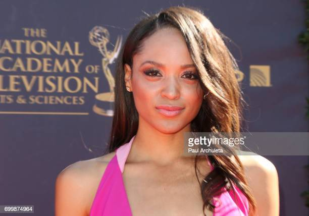 Actress / Comedian Sal Stowers attends the 44th annual Daytime Emmy Awards at The Pasadena Civic Auditorium on April 30 2017 in Pasadena California