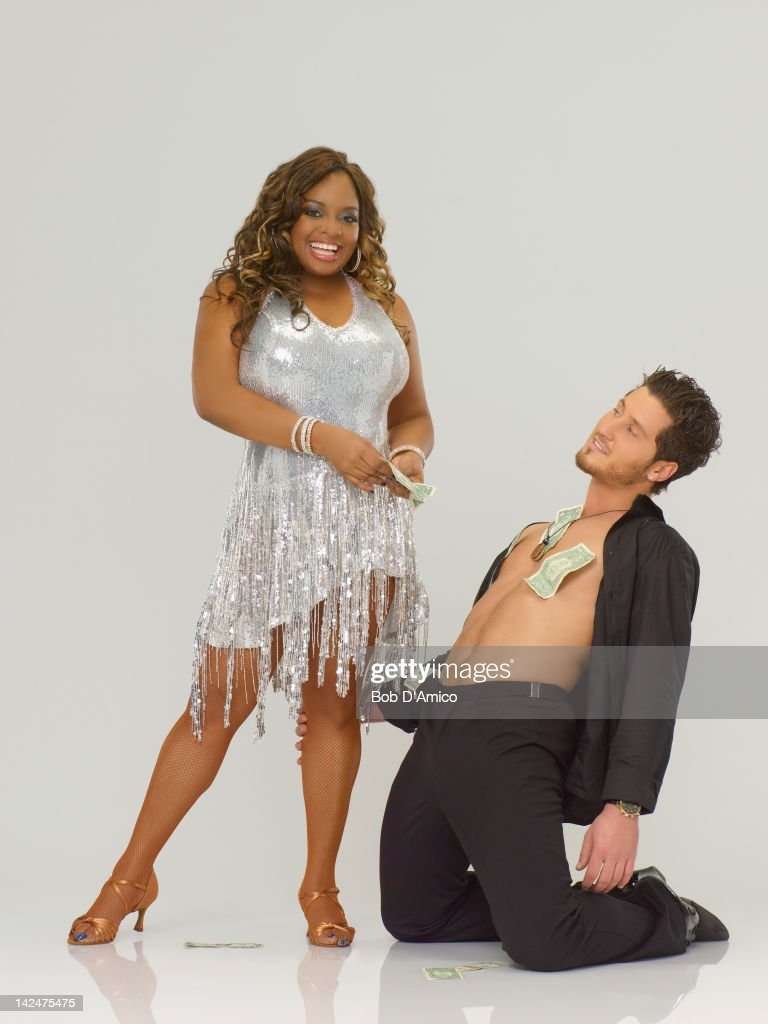 STARS - (EXCLUSIVE TO GETTY IMAGES UNTIL APRIL 19, 2012) SHERRI SHEPHERD & VAL CHMERKOVSKIY - Actress, comedienne and co-host of ABC's hugely popular daytime talk show, 'The View,' Sherri Shepherd partners with Val Chmerkovskiy, who is returning for his second season as a professional partner. The two-hour season premiere of 'Dancing with the Stars' airs MONDAY, MARCH 19 (8:00-10:01 p.m., ET) on the ABC Television Network.