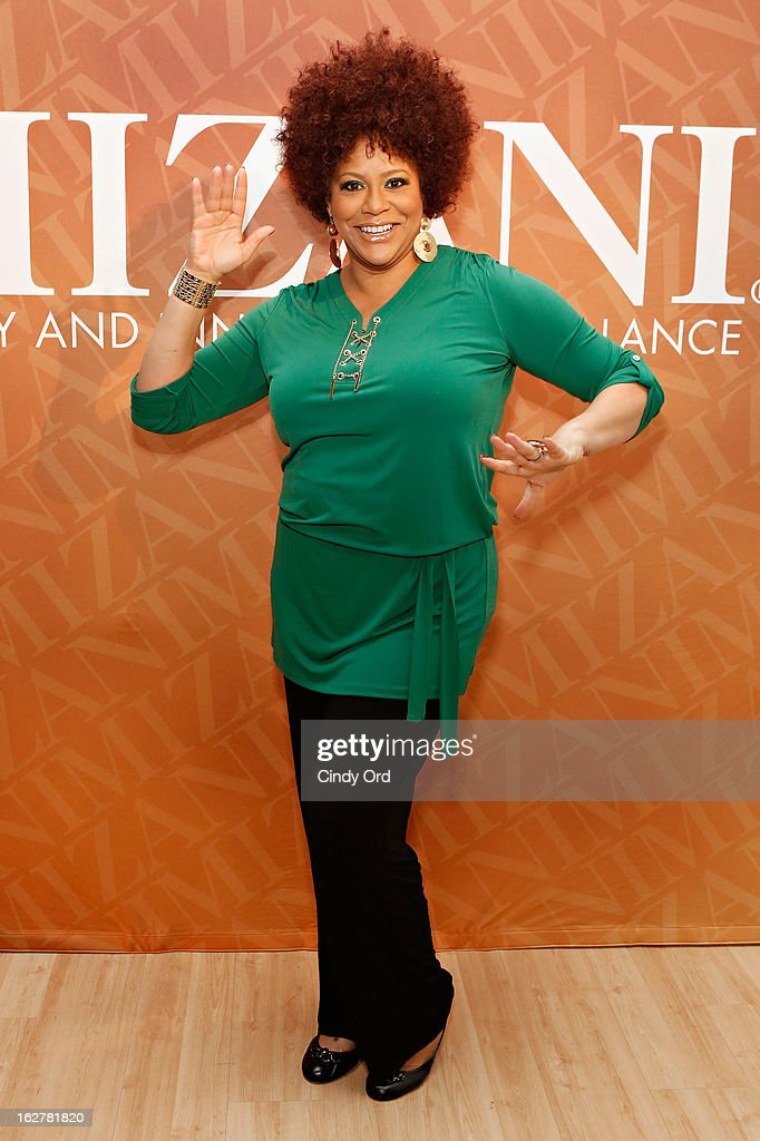 Actress/ comedienne Kim Coles attends 'The Spoken Word' hosted by Kim Coles at L'Oreal Soho Academy on February 26, 2013 in New York City.