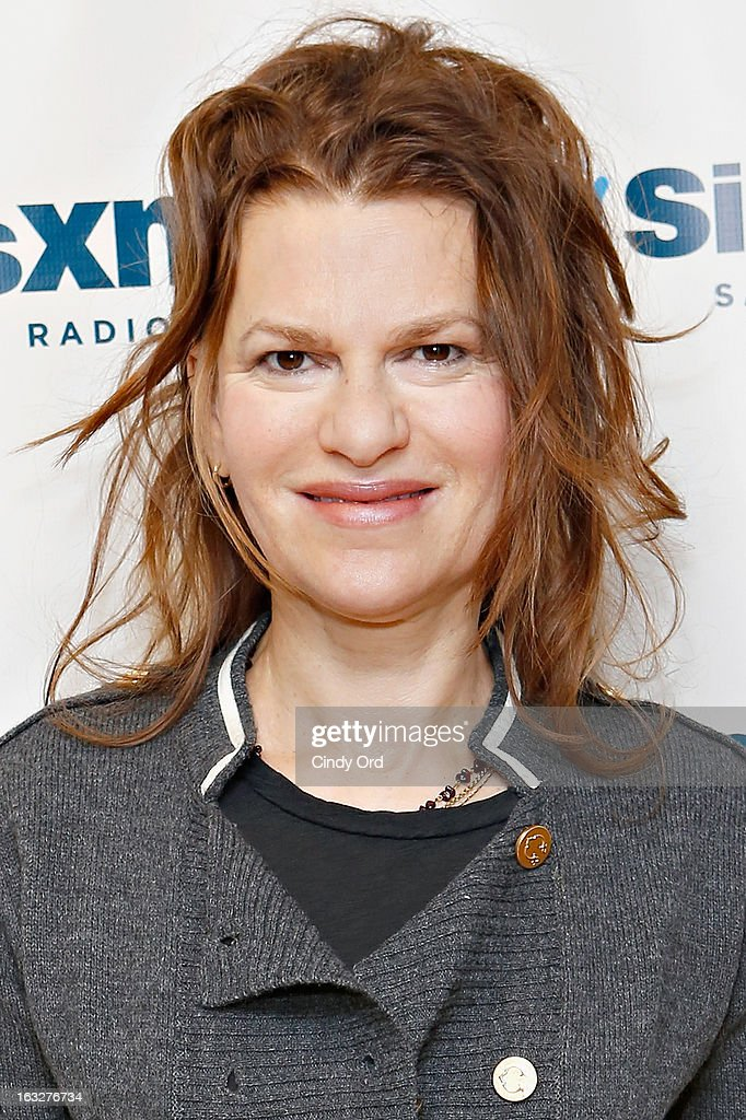 Actress/ comedienne Sandra Bernhard visits the SiriusXM Studios on March 6, 2013 in New York City.