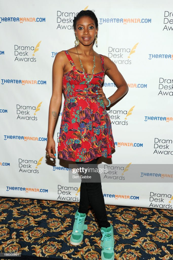 Actress Condola Rashad attends The 2013 Drama Desk Nominees Reception at JW Marriott Essex House on May 8, 2013 in New York City.
