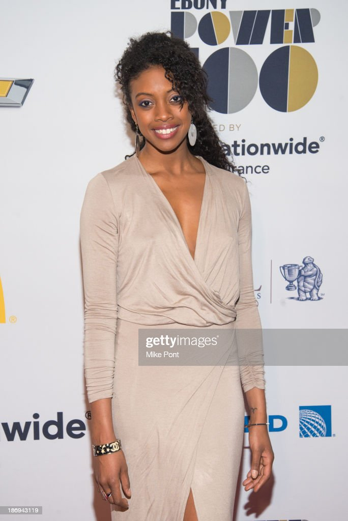 Actress Condola Rashad attends the 2013 EBONY Power 100 List Gala at Frederick P Rose Hall Jazz at Lincoln Center on November 4 2013 in New York City