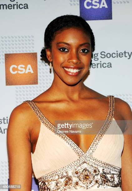 Actress Condola Rashad attends the 29th Annual Artios Awards at XL Nightclub on November 18 2013 in New York City