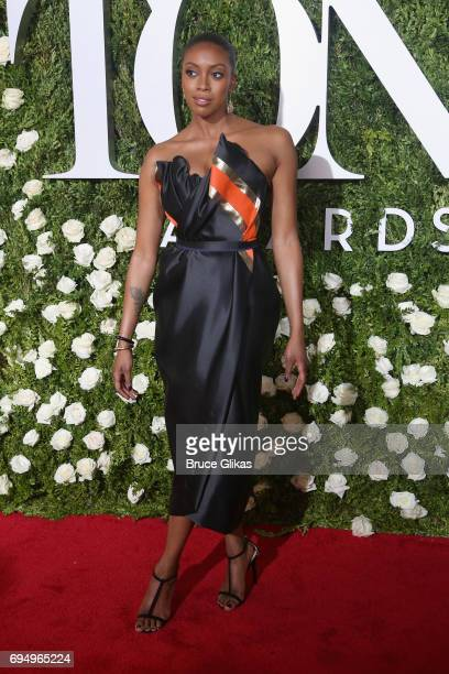 Actress Condola Rashad attends the 71st Annual Tony Awards at Radio City Music Hall on June 11 2017 in New York City