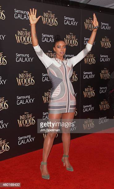 Actress Condola Rashad attends the 'Into The Woods' world premiere at the Ziegfeld Theater on December 8 2014 in New York City