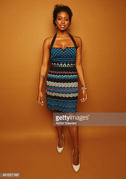 Actress Condola Rashad poses for a portrait at the 2014 American Black Film Festival at the Metropolitan Pavillion on June 21 2014 in New York City