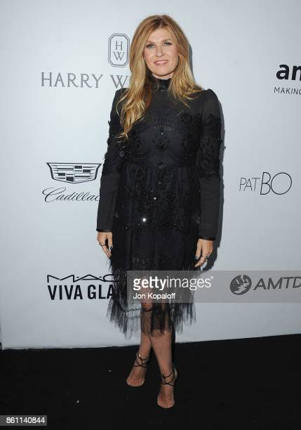 Actress Connie Britton arrives at amfAR Los Angeles 2017 at Ron Burkleâs Green Acres Estate on October 13 2017 in Beverly Hills Californi