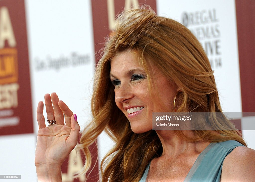 Actress Connie Britton arrives at Film Independent's 2012 Los Angeles Film Festival premiere of Focus Features' 'Seeking A Friend For The End Of The World' at Regal Cinemas L.A. Live on June 18, 2012 in Los Angeles, California.