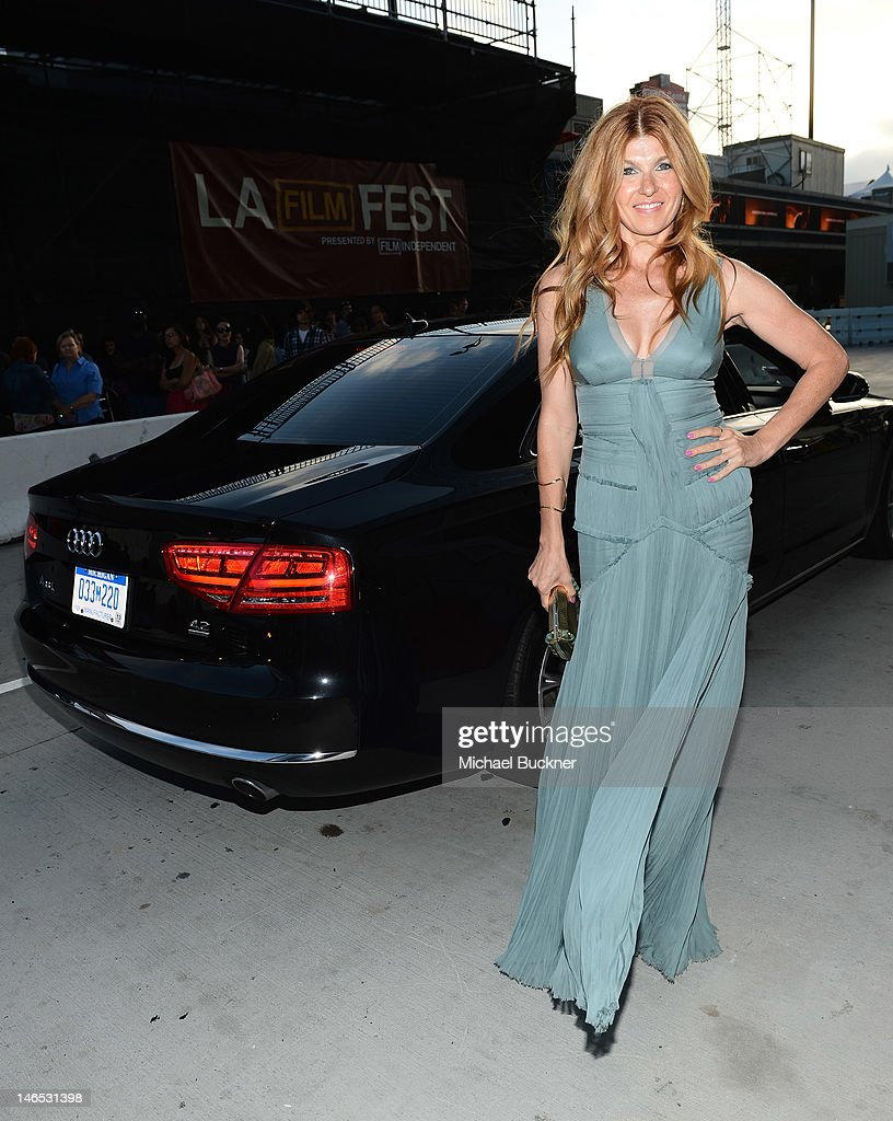 Actress Connie Britton arrives at Focus Features' Premiere of 'Seeking A Friend For The End Of The World' at LA Live on June 18, 2012 in Los Angeles, California.
