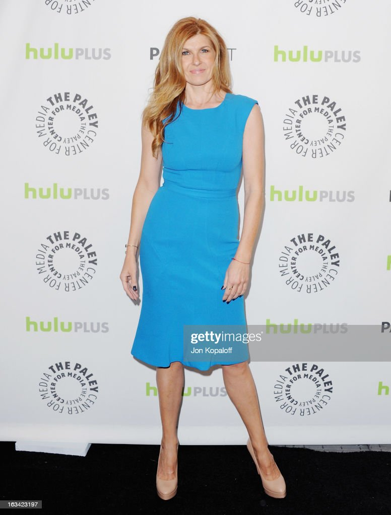 Actress Connie Britton arrives at 'Nashville' part of the 30th Annal William S. Paley Television Festival at Saban Theatre on March 9, 2013 in Beverly Hills, California.