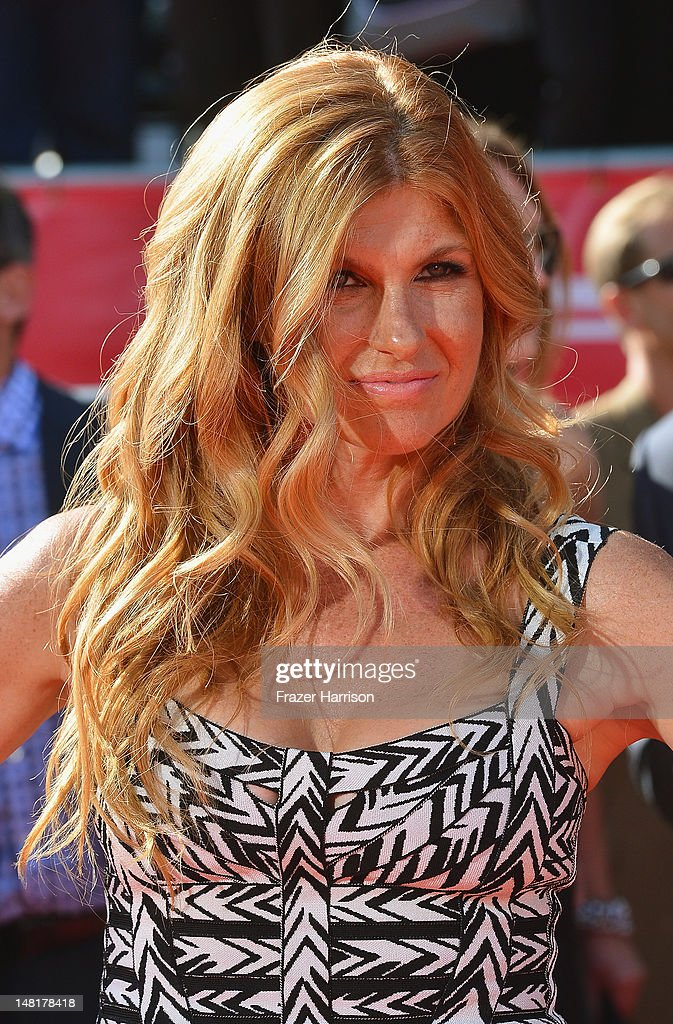 Actress <a gi-track='captionPersonalityLinkClicked' href=/galleries/search?phrase=Connie+Britton&family=editorial&specificpeople=234699 ng-click='$event.stopPropagation()'>Connie Britton</a> arrives at the 2012 ESPY Awards at Nokia Theatre L.A. Live on July 11, 2012 in Los Angeles, California.