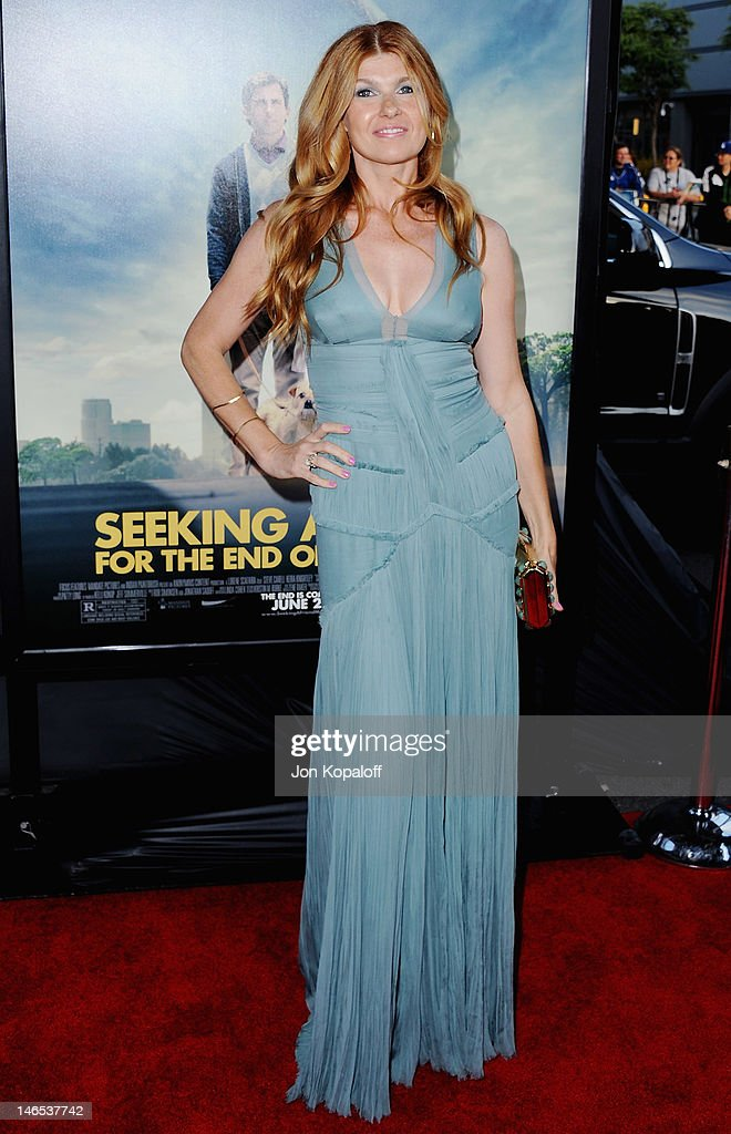 Actress Connie Britton arrives at the 2012 Los Angeles Film Festival - 'Seeking A Friend For The End Of The World' at Regal Cinemas L.A. Live on June 18, 2012 in Los Angeles, California.