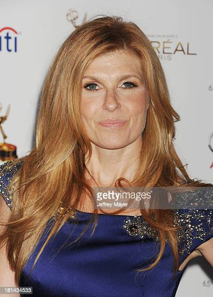 Actress Connie Britton arrives at the 65th Emmy Awards Performers Nominee Reception at Spectra by Wolfgang Puck at the Pacific Design Center on...