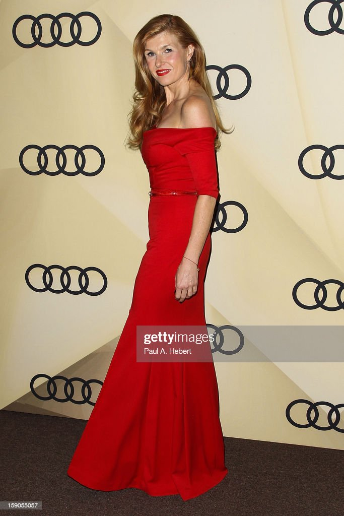 Actress Connie Britton arrives at the Audi Golden Globe 2013 Kick Off Party at Cecconi's Restaurant on January 6, 2013 in Los Angeles, California.