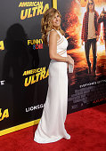 Actress Connie Britton arrives at the premiere of Lionsgate's 'American Ultra' at Ace Theater Downtown LA on August 18 2015 in Los Angeles California