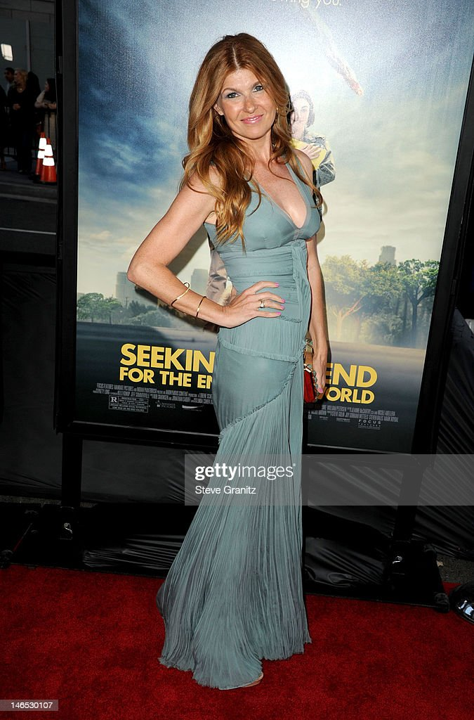 Actress Connie Britton arrives at the premiere of 'Seeking a Friend for the End of the World' at the 2012 Los Angeles Film Festival held at Regal Cinemas L.A. Live on June 18, 2012 in Los Angeles, California.