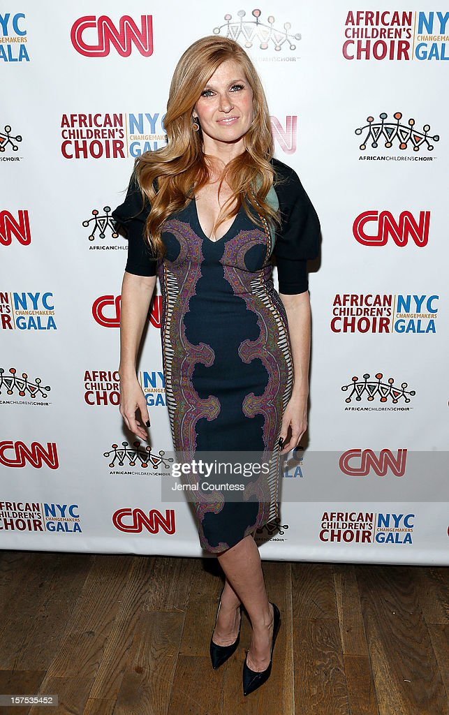 Actress Connie Britton attends 4th Annual African Children's Choir Fundraising Gala at City Winery on December 3, 2012 in New York City.
