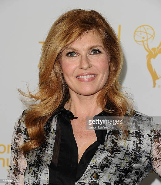 Actress Connie Britton attends an evening with the women of 'American Horror Story' at The Montalban on March 17 2015 in Hollywood California