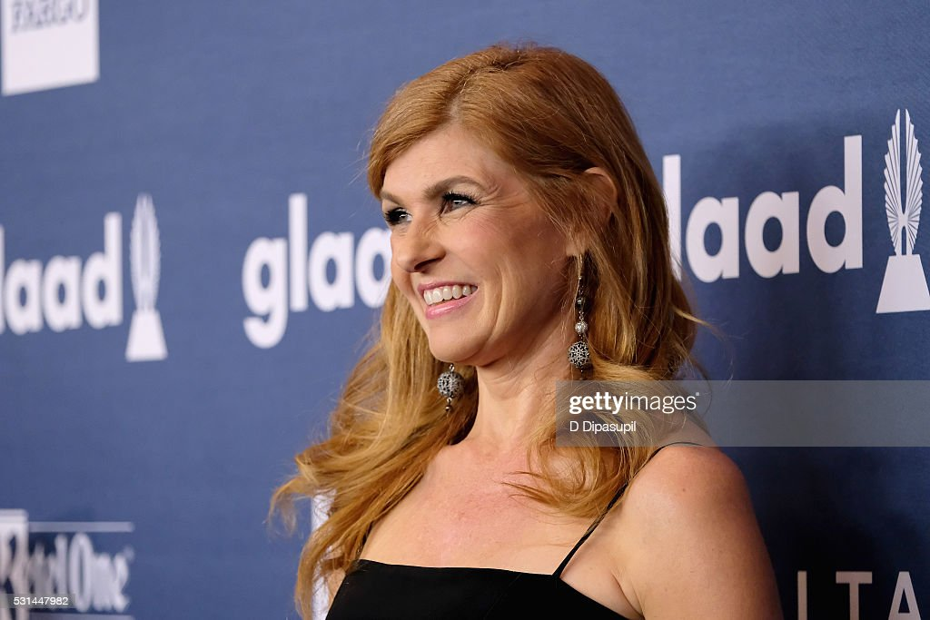Actress Connie Britton attends at The 27th Annual GLAAD Media Awards with Hilton at Waldorf Astoria Hotel on May 14, 2016 in New York City.