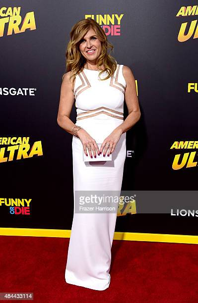 Actress Connie Britton attends PalmStar Media And Lionsgate's 'American Ultra' premiere at the Ace Theater Downtown LA on August 18 2015 in Los...
