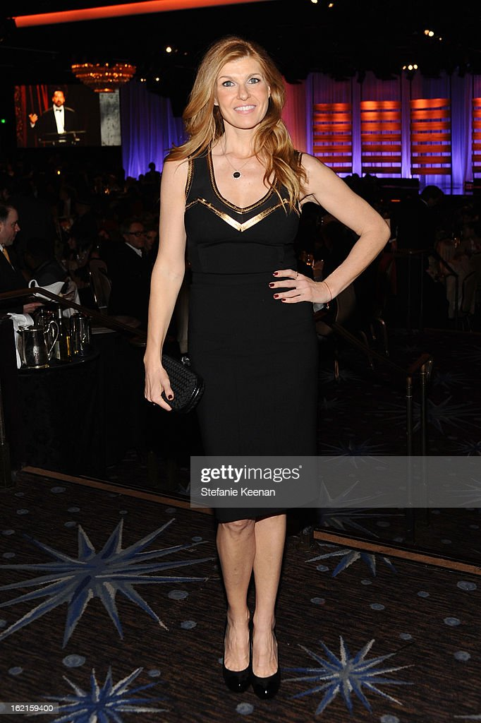 Actress Connie Britton attends the 15th Annual Costume Designers Guild Awards with presenting sponsor Lacoste at The Beverly Hilton Hotel on February 19, 2013 in Beverly Hills, California.