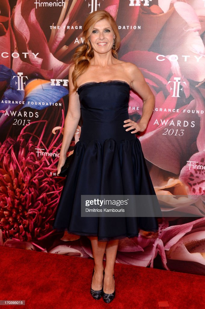 Actress <a gi-track='captionPersonalityLinkClicked' href=/galleries/search?phrase=Connie+Britton&family=editorial&specificpeople=234699 ng-click='$event.stopPropagation()'>Connie Britton</a> attends the 2013 Fragrance Foundation Awards at Alice Tully Hall at Lincoln Center on June 12, 2013 in New York City.