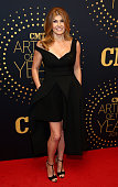 Actress Connie Britton attends the 2015 'CMT Artists of the Year' at Schermerhorn Symphony Center on December 2 2015 in Nashville Tennessee
