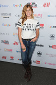 Actress Connie Britton attends the 2015 Global Citizen Festival to end extreme poverty by 2030 in Central Park on September 26 2015 in New York City