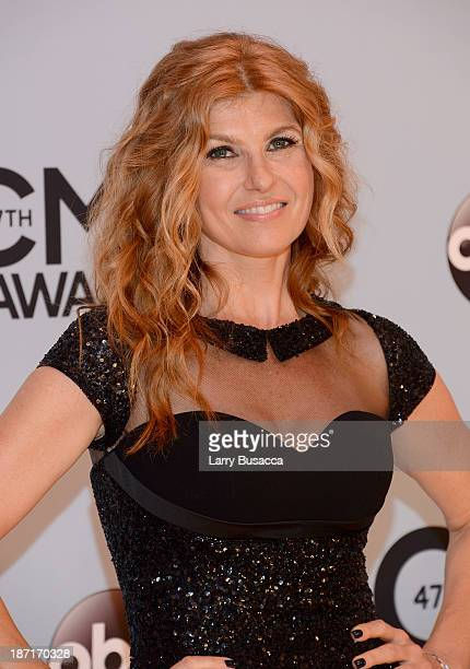 Actress Connie Britton attends the 47th annual CMA Awards at the Bridgestone Arena on November 6 2013 in Nashville Tennessee