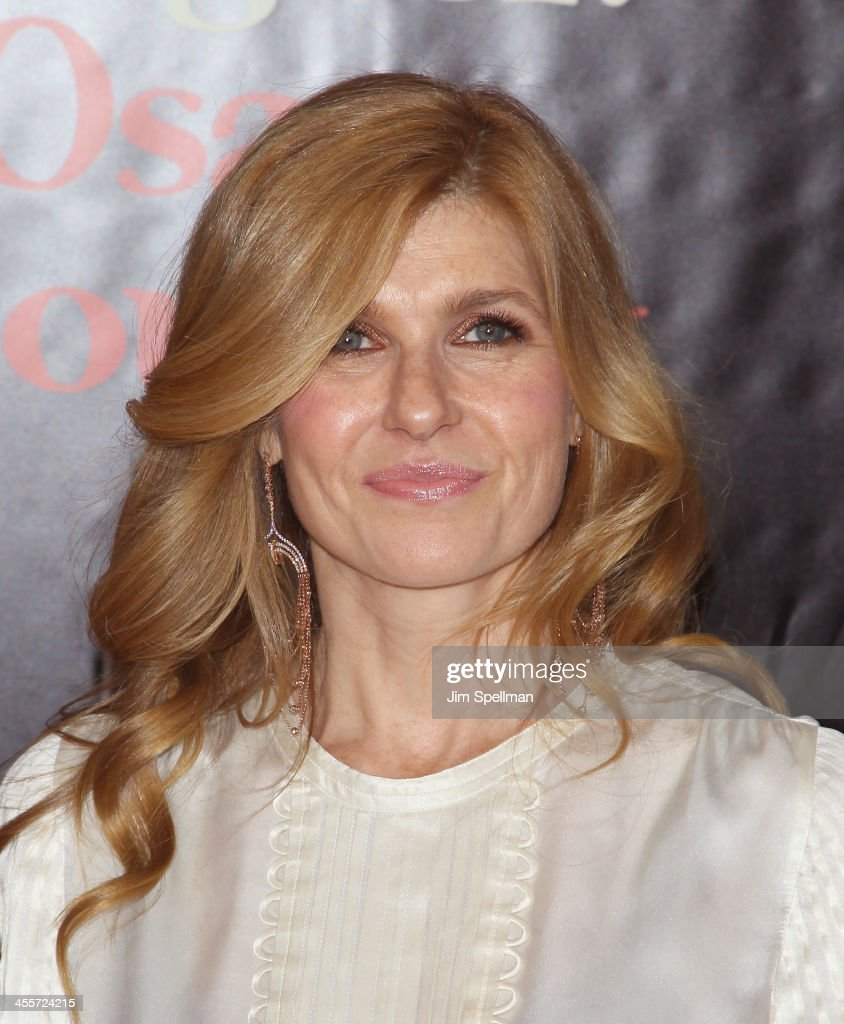 Actress <a gi-track='captionPersonalityLinkClicked' href=/galleries/search?phrase=Connie+Britton&family=editorial&specificpeople=234699 ng-click='$event.stopPropagation()'>Connie Britton</a> attends the 'August: Osage County' premiere at Ziegfeld Theater on December 12, 2013 in New York City.