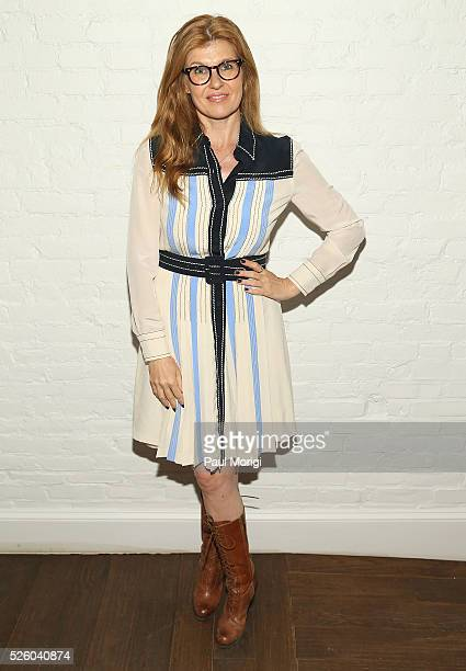 Actress Connie Britton attends the Glamour and Facebook brunch to discuss sexism in 2016 during WHCD Weekend at Kinship on April 29 2016 in...
