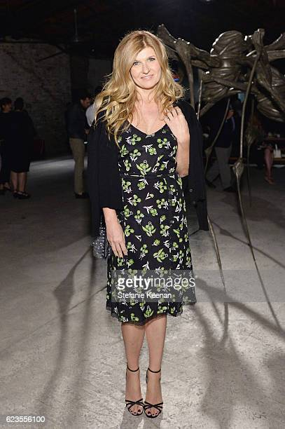 Actress Connie Britton attends the premiere of 'Past Forward' a movie by David O Russell presented by Prada on November 15 2016 at Hauser Wirth...