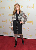 Actress Connie Britton attends the Television Academy Presents An Evening With The Women Of 'American Horror Story' at The Montalban on March 17 2015...