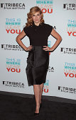 Actress Connie Britton attends the Tribeca Film Institute Annual Gala Benefit Advance Screening Of 'This Is Where I Leave You' at AMC Loews Lincoln...