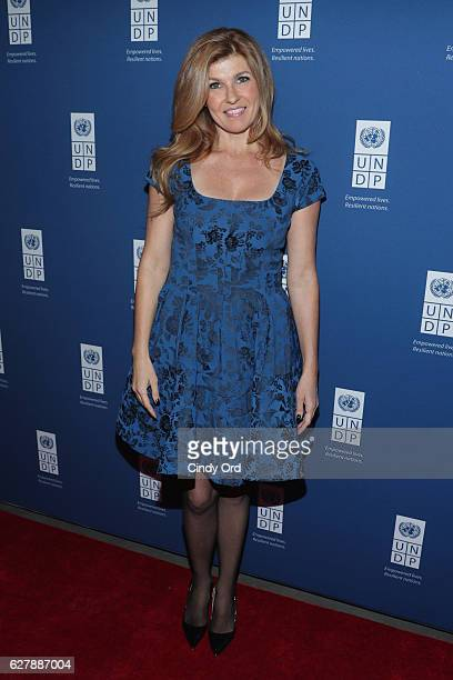 Actress Connie Britton attends the United Nations Development Programme Inaugural Global Goals Gala A Night for Change at Phillips in Manhattan on...