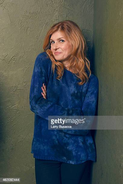 Actress Connie Britton from 'Me Earl the Dying Girl' poses for a portrait at the Village at the Lift Presented by McDonald's McCafe during the 2015...