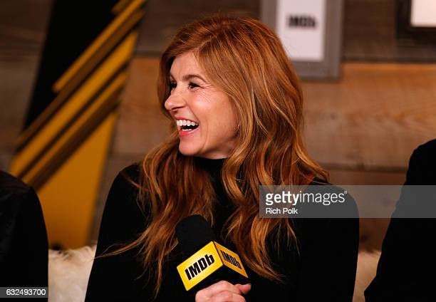 Actress Connie Britton of 'Cast Change' attends The IMDb Studio featuring the Filmmaker Discovery Lounge presented by Amazon Video Direct Day Four...