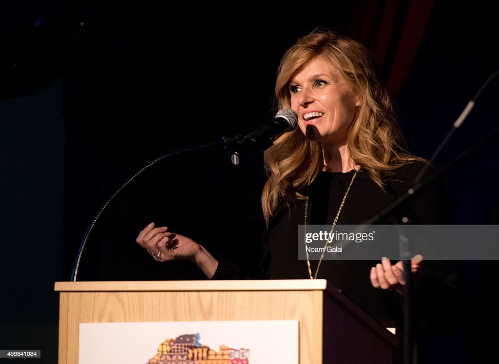 Actress Connie Britton speaks on stage at the 6th Annual African Children's Choir Changemakers Gala at City Winery on November 20, 2014 in New York City.