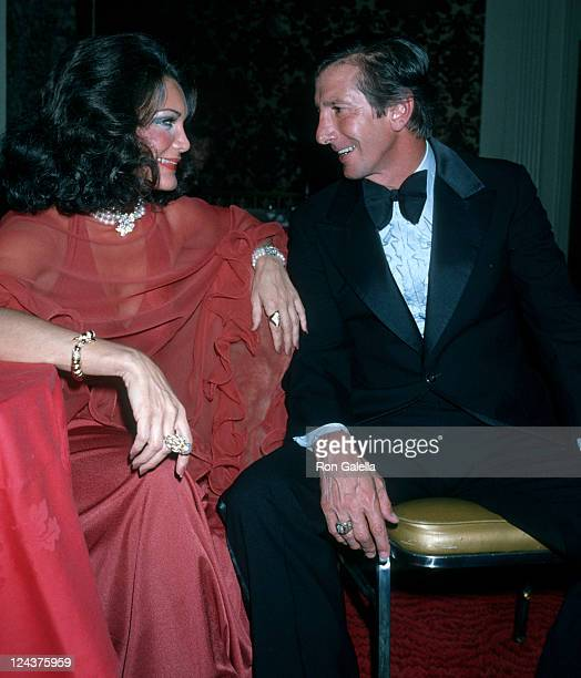 Actress Connie Francis and Billy Martin attend Colombus Citizens Committee Awards Dinner on October 7 1978 at the Waldorf Astoria Hotel in New York...