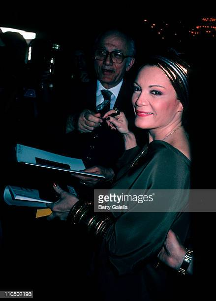 Actress Connie Francis attends 39th Annual Golden Globe Awards on January 30 1982 at the Beverly Hilton Hotel in Beverly Hills California