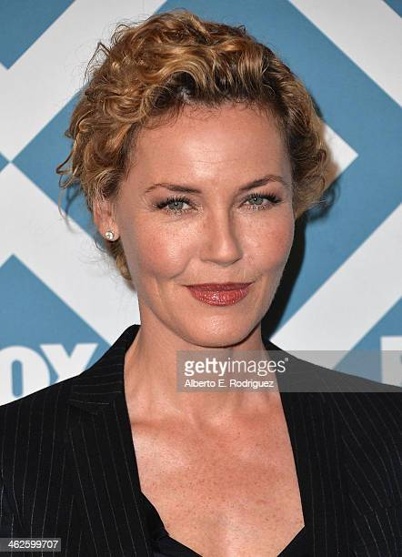 Actress Connie Nielsen arrives to the 2014 Fox AllStar Party at the Langham Hotel on January 13 2014 in Pasadena California