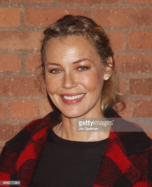 Actress Connie Nielsen attends the 'All Relative' screening hosted by The Moms at Tribeca Screening Room on November 25 2014 in New York City