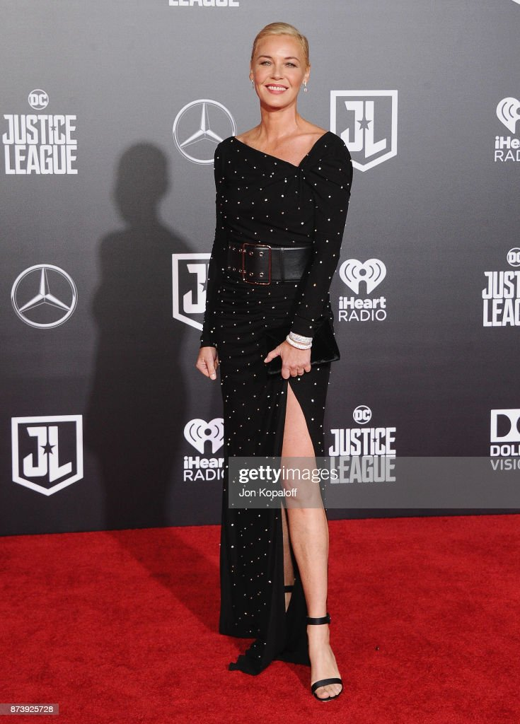Actress Connie Nielsen attends the Los Angeles Premiere of Warner Bros. Pictures' 'Justice League' at Dolby Theatre on November 13, 2017 in Hollywood, California.