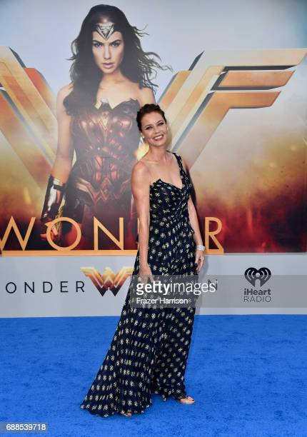 Actress Connie Nielson arrives at the Premiere Of Warner Bros Pictures' 'Wonder Woman' at the Pantages Theatre on May 25 2017 in Hollywood California
