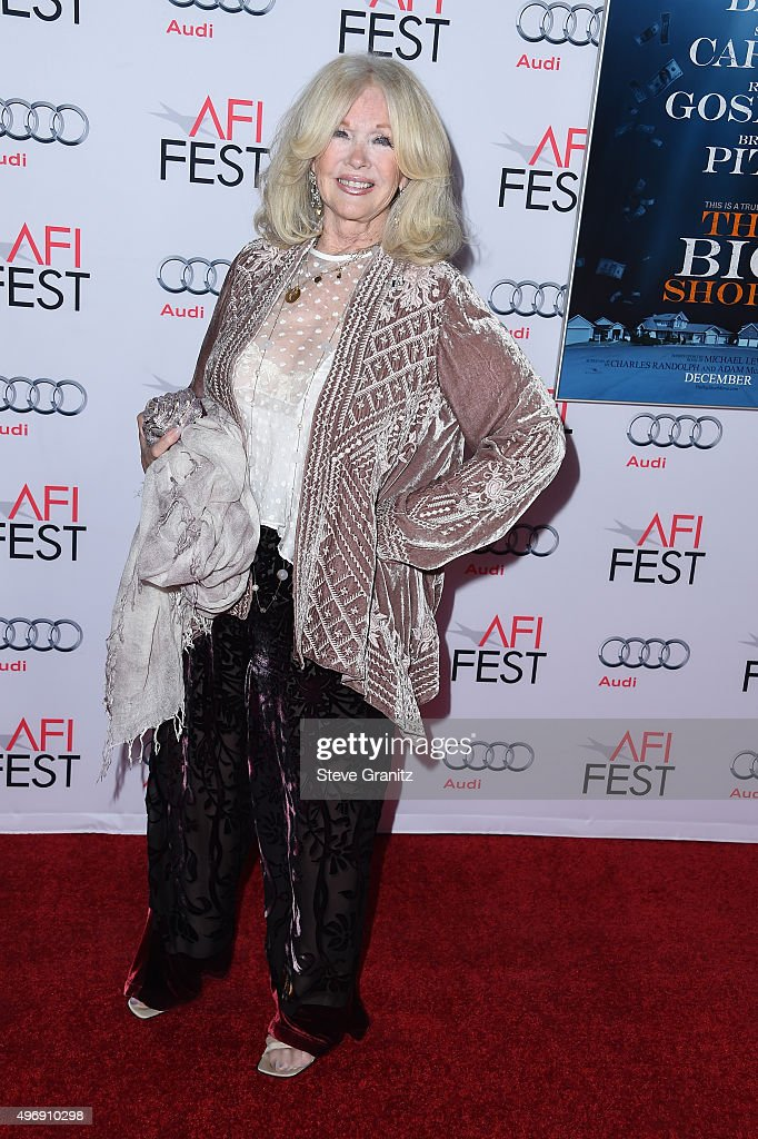 Actress <a gi-track='captionPersonalityLinkClicked' href=/galleries/search?phrase=Connie+Stevens&family=editorial&specificpeople=217812 ng-click='$event.stopPropagation()'>Connie Stevens</a> attends the closing night gala premiere of Paramount Pictures' 'The Big Short' during AFI FEST 2015 at TCL Chinese Theatre on November 12, 2015 in Hollywood, California.