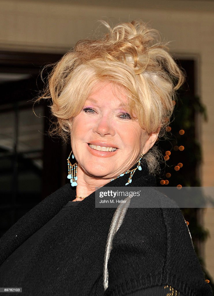 Actress Connie Stevens attends the Membership First Fundraiser at the home of Nancy Sinatra on August 13, 2009 in Beverly Hills, California.